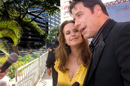 John Travolta and Kelly Preston, Honolulu Hawaii 2007