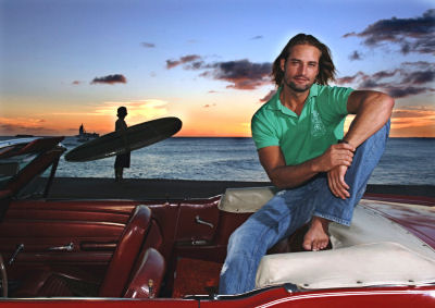 Josh Holloway, Honolulu Hawaii Nov 2005